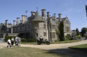Beaulieu Palace House & car